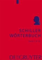 Schiller-Wörterbuch | Lühr / Zeilfelder, 2016 | Buch (Cover)