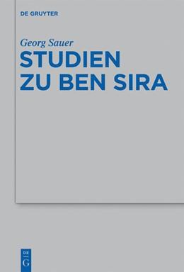 Abbildung von Sauer | Studien zu Ben Sira | 2013 | 440