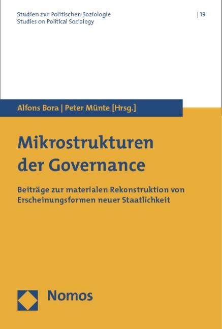 Abbildung von Bora / Münte | Mikrostrukturen der Governance | 2012