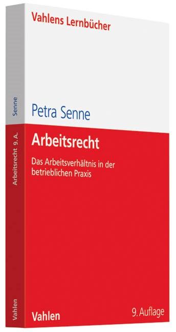 Arbeitsrecht   Senne   9., neu bearbeitete Auflage, 2014   Buch (Cover)