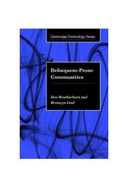 Abbildung von Weatherburn / Lind | Delinquent-Prone Communities | 2000
