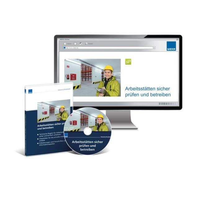 Arbeitsstätten sicher prüfen und betreiben, 2017 (Cover)