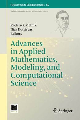 Abbildung von Melnik / Kotsireas | Advances in Applied Mathematics, Modeling, and Computational Science | 2012 | 66