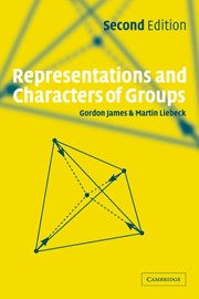 Abbildung von James / Liebeck | Representations and Characters of Groups | 2nd ed. | 2001