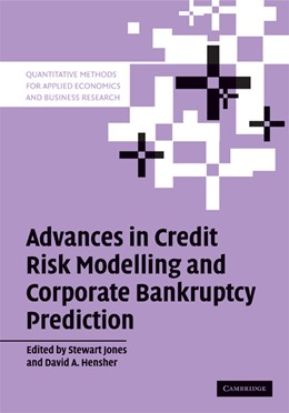 Abbildung von Jones / Hensher | Advances in Credit Risk Modelling and Corporate Bankruptcy Prediction | 2008