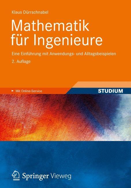 Mathematik für Ingenieure   Dürrschnabel, 2012   Buch (Cover)