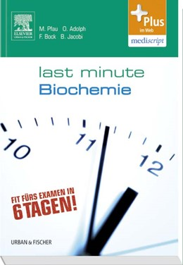 Abbildung von Adolph / Bock / Jacobi | Last Minute Biochemie | 2012