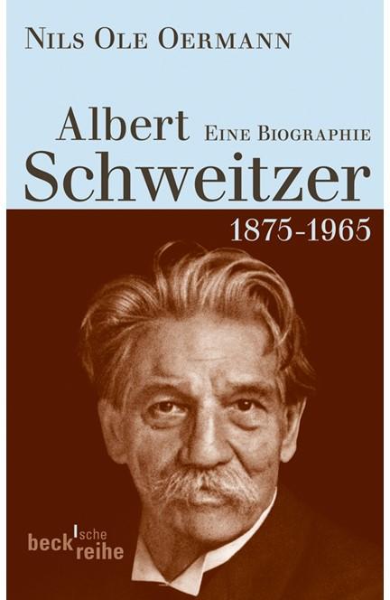 Cover: Nils Ole Oermann, Albert Schweitzer