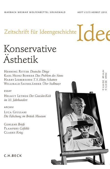Cover: , Zeitschrift für Ideengeschichte Heft VII/3 Herbst 2013
