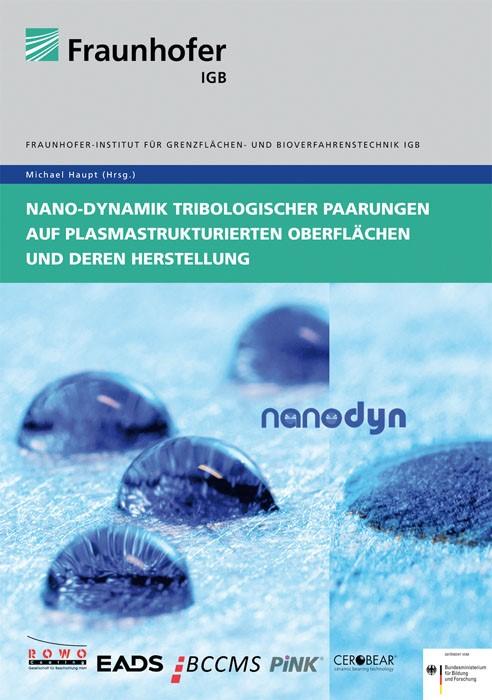 Nano-Dynamik tribologischer Paarungen auf plasmastrukturierten Oberflächen und deren Herstellung | / Haupt, 2012 | Buch (Cover)