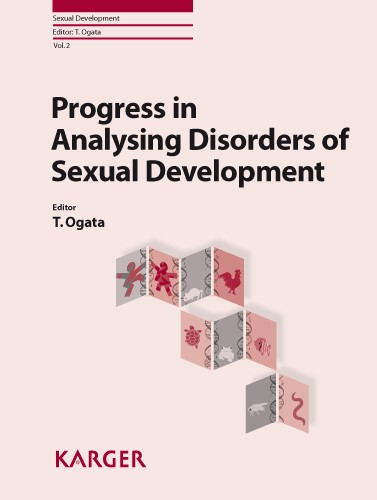 Progress in Analysing Disorders of Sexual Development | Ogata, 2008 | Buch (Cover)