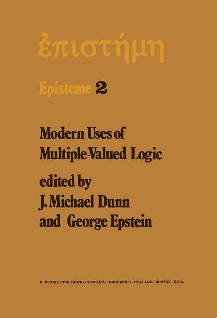 Modern Uses of Multiple-Valued Logic | Dunn / Epstein, 1977 | Buch (Cover)