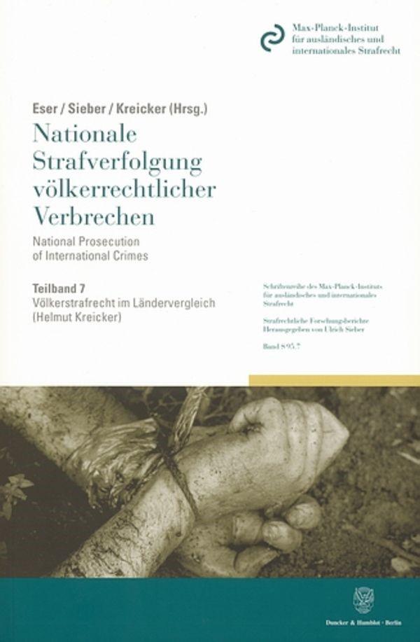 Abbildung von Eser / Sieber / Kreicker   Völkerstrafrecht im Ländervergleich.   2007