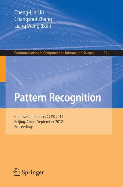 Abbildung von Liu / Zhang / Wang | Pattern Recognition | 2012