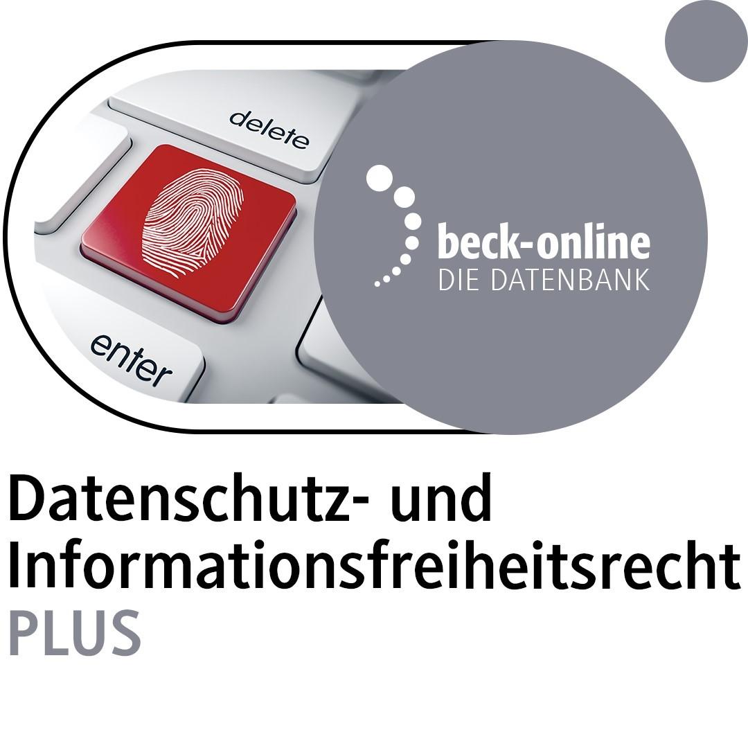 Abbildung von Datenschutz- und Informationsfreiheitsrecht PLUS
