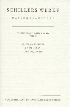 Schillers Werke. Nationalausgabe | Oellers | Leinen, 1998 | Buch (Cover)