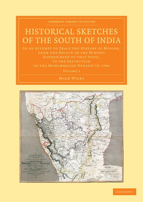 Abbildung von Wilks | Historical Sketches of the South of India | 2013
