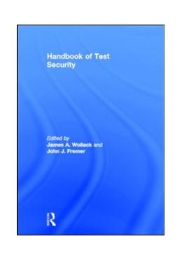 Abbildung von Wollack / Fremer | Handbook of Test Security | 2013