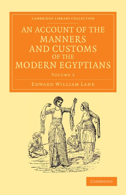 Abbildung von Lane | An Account of the Manners and Customs of the Modern Egyptians | 2013