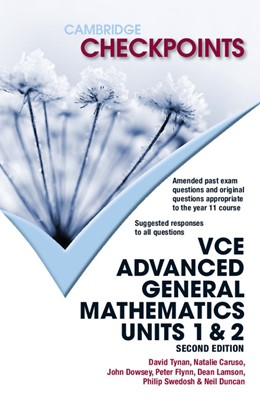 Abbildung von Duncan / Tynan / Caruso | Cambridge Checkpoints VCE Advanced General Maths Units 1 and 2 | 2012
