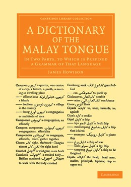 Abbildung von Howison   A Dictionary of the Malay Tongue   2013   In Two Parts, to Which Is Pref...