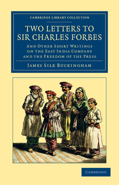 Abbildung von Buckingham | Two Letters to Sir Charles Forbes | 2012