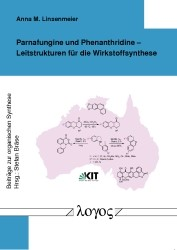 Parnafungine und Phenanthridine - Leitstrukturen für die Wirkstoffsynthese | Linsenmeier, 2012 | Buch (Cover)