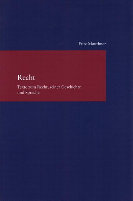 Abbildung von Mauthner | Recht | 2007