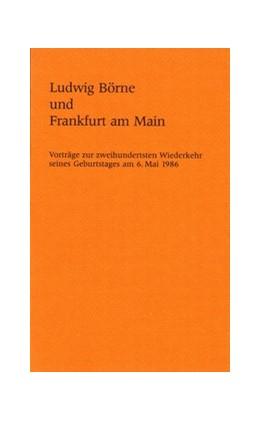 Abbildung von Ludwig Börne und Frankfurt am Main | 1987