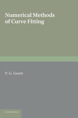 Abbildung von Guest | Numerical Methods of Curve Fitting | 2012