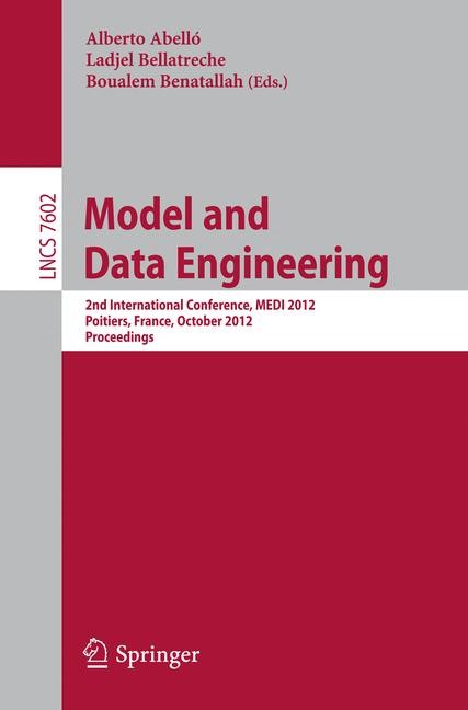 Model and Data Engineering | Abelló / Bellatreche / Benatallah, 2012 | Buch (Cover)