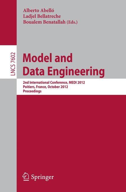 Abbildung von Abelló / Bellatreche / Benatallah | Model and Data Engineering | 2012