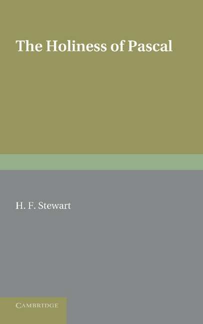 Abbildung von Stewart | The Holiness of Pascal | 2012