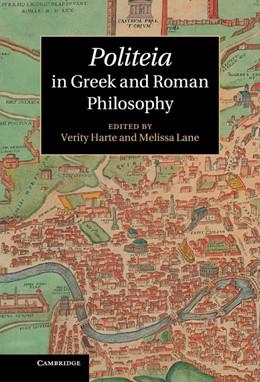 Abbildung von Harte / Lane | Politeia in Greek and Roman Philosophy | 2013