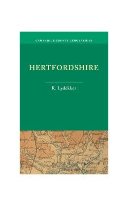 Abbildung von Lydekker | Hertfordshire | 2012