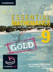 Abbildung von Greenwood / Woolley / Vaughan   Essential Mathematics Gold for the Australian Curriculum Year 9 and Cambridge HOTmaths   2012