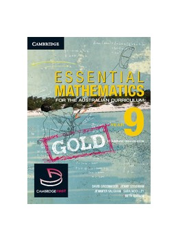 Abbildung von Greenwood / Woolley / Vaughan | Essential Mathematics Gold for the Australian Curriculum Year 9 and Cambridge HOTmaths | 2012