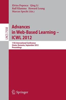 Abbildung von Popescu / Li / Klamma / Leung / Specht | Advances in Web-based Learning - ICWL 2012 | 2012 | 11th International Conference,...