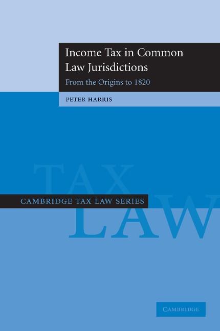 Abbildung von Harris   Income Tax in Common Law Jurisdictions   2012