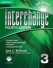 Abbildung von Richards | Interchange Level 3 Full Contact with Self-study DVD-ROM | 2012