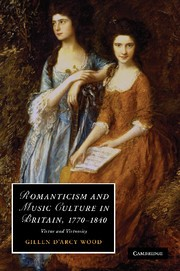 Abbildung von Wood | Romanticism and Music Culture in Britain, 1770–1840 | 2012