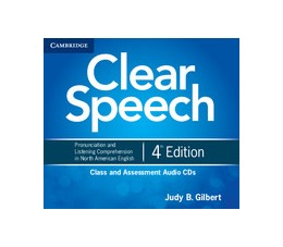 Abbildung von Gilbert | Clear Speech Class and Assessment Audio CDs (4) | 2012 | Pronunciation and Listening Co...