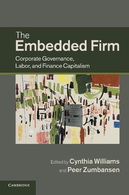 Abbildung von Williams / Zumbansen | The Embedded Firm | 2012