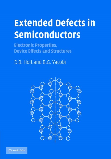 Abbildung von Holt / Yacobi | Extended Defects in Semiconductors | 2007