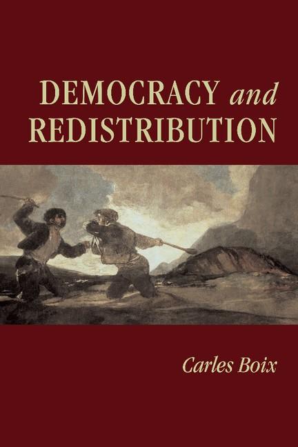 Abbildung von Boix | Democracy and Redistribution | 2003