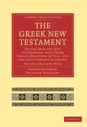 Abbildung von Tregelles   The Greek New Testament   2010