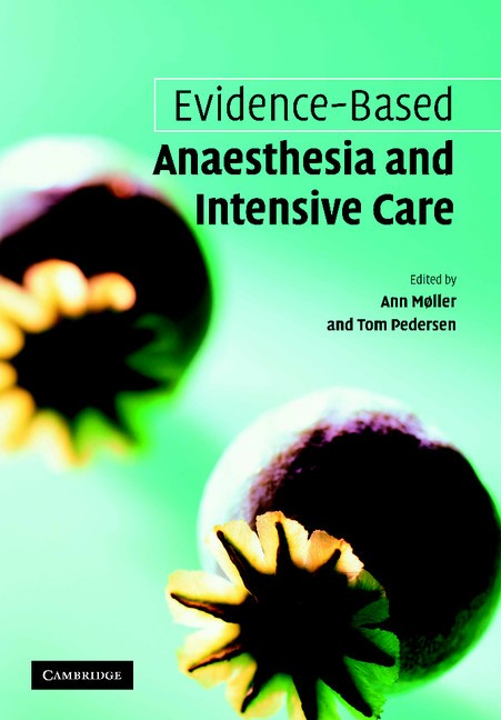 Abbildung von Møller / Pedersen | Evidence-based Anaesthesia and Intensive Care | 2006