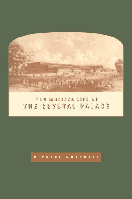 Abbildung von Musgrave | The Musical Life of the Crystal Palace | 2005