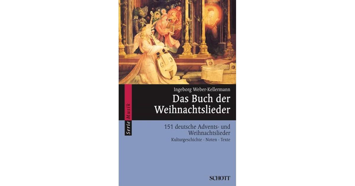 Das Buch der Weihnachtslieder | Weber-Kellermann, 1998 | Buch | beck ...