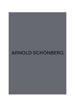 Abbildung von Schmidt | Orchesterlieder | | Kritischer Bericht, Skizzen, F...